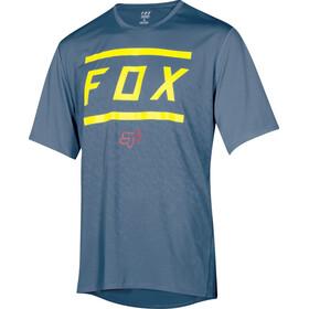 Fox Ranger Fietsshirt korte mouwen Kinderen blauw